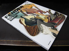 Fender Custom Shop Japan Guitar Book Clapton Jeff Beck Ray Vaughan Andy Summers