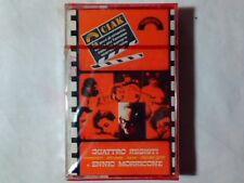 ENNIO MORRICONE Quattro registi mc cassette k7 RARA VERY RARE SIGILLATA SEALED!!