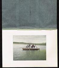 Yangtze River - China - Chang Jiang or Yangzi-1902 Lithograph