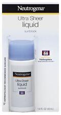Neutrogena Ultra Sheer Liquid Sunblock, Spf 55, 1.4 Ounces (Pack of 2)