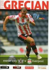 2011/12 - EXETER CITY v LIVERPOOL (CARLING CUP)