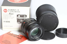 Leica LEITZ Elmarit-R 2.8/90mm e55 GERMANY LENS