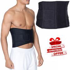 Backache Back Support Belt Neoprene Lumbar Waist Brace Adjustable Pain Relief