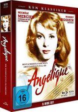 ANGELIQUE (Michele Mercier), die komplette Filmreihe (5 Blu-ray Discs) NEU+OVP