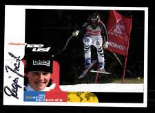 Regina Autogrammkarte Original Signiert Ski Alpine + A 162656