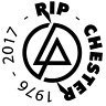 Linkin Park Logo Aufkleber RIP CHESTER Auto Deko Folie LINKIN PARK