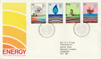 25 JANUARY 1978 ENERGY POST OFFICE FIRST DAY COVER BUREAU SHS (a)