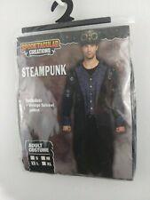 Steampunk Vintage Tailcoat Jacket Spooktacular Halloween Costume Men's Large NEW
