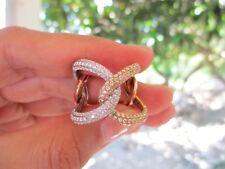 1.71 Carat Diamond Tricolor Gold Ring 18k codeR37 sepvergara