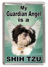 "Shih Tzu Dog Fridge Magnet ""My Guardian Angel is a SHIH TZU"" by Starprint"