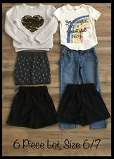 Girls Clothing Lot, 6 Items, Size 6/7, H&M, Old Navy, Children's Place