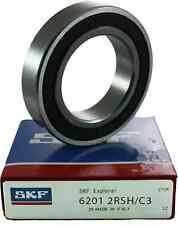 6201-2RS/C3 SKF Brand rubber seals bearing 6201-2RSH C3 or 2rs USA ship