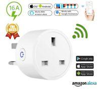 Smart Plug Switch WiFi Socket Remote/Voice Control For Amazon Alexa Google App