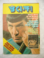 TV SCI FI MONTHLY No 8 magazine / fold out poster 1976 issue