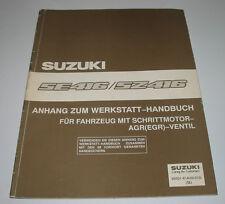Werkstatthandbuch Anhang Suzuki Vitara SE SZ 416 Fahrzeuge mit Schritt Motor AGR