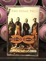 Curcial Conflict The Final Tic Cassette Tape 1996 Chicago Gangsta Rap Hip Hop