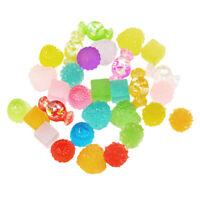 30x Mixed Resin Cabochons Kawaii Candy Food Flatback Buttons DIY Phone Cover