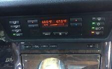 2000-06 BMW X5 E53 Digital Climate Heater HVAC AC Control Panel 64.11-6 927 560