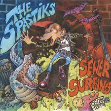 Spastiks-Sewer Surfing VINYL LP NEUF