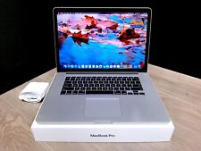 15 inch Apple MacBook Pro Retina / Quad Core i7 / Os-2019 / Ssd /3 Year Warranty