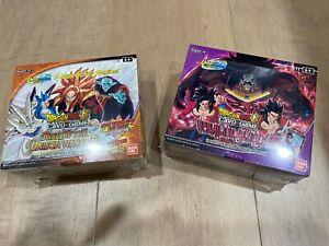 Dragon Ball Super Vermillion Bloodline & Rise of the Unison Warrior Booster Box
