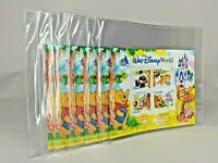 Lot of 6 Walt Disney World Florida Winnie the Pooh Canada Postage Stamp Sets