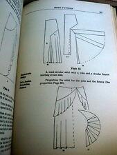 RARE VTG 1930s SEWING PATTERN DRAFTING BOOK