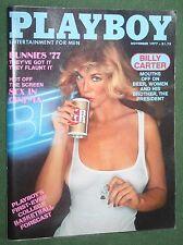 Playboy Nov 1977 POM Rita Lee Bunnies 77 Sex  the Cinema Billy Carter interview
