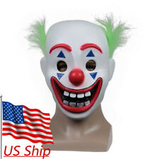 2019 Cosplay DC Movie New Joker Arthur Fleck Mask Halloween Horror Clown Mask