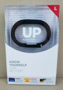 UP By Jawbone Activity Tracker  Large Wristband  Black  JBR52A-LG  PKG DISTRESS