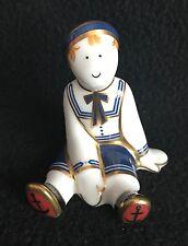 Royal Crown Derby Treasures of Childhood - Ragdoll Sailor - Paperweight