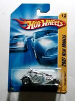 2007 Hot Wheels Straight Pipes New Models 12/36 12/180 Silver Color Version