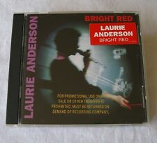 CD - Laurie Anderson - Bright Red
