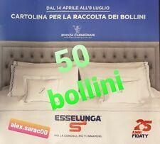 """50 Bollini Punti ESSELUNGA """"COLLEZIONE A LETTO"""" Rivolta Carmignani 2020"""