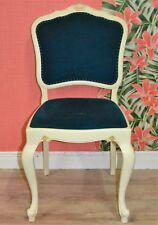 Vintage ottensarndt Chaise de salle à manger Ressorts Bleu/blanc dekostuhl