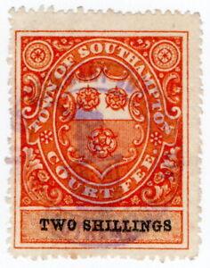 (I.B) Southampton Revenue : Town Court Fees 2/-