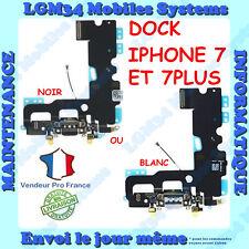 NAPPE DOCK CONNECTEUR DE CHARGE + MICRO + ANTENNE POUR IPHONE 7 ET 7PLUS 7+
