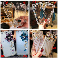 For Huawei Bling Glitter Jewelled Crystal Diamonds Soft gel Phone Case Cover #1