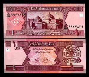 AFGHANISTAN 1 AFGHANI P64 2002 x 1000 Pcs BUNDLE Full BRICK PIGEON UNC LOT NOTE
