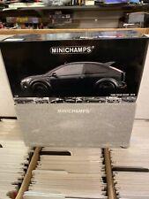 Minichamps 1:18 Scale Ford Focus Matt Black RS500 2010 Diecast Model