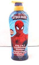 Marvel Spider-Man Kids 2 in 1 Conditioning Shampoo 1L NWT Orange Mango Fusion