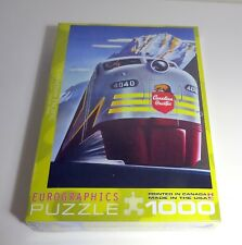 Eurographics 1000 Piece jigsaw Puzzle - Canadian Pacific Diesel 4040