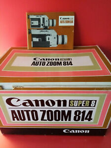 Canon Auto Zoom 814. Super 8 Movie Camera & Original Case/ in Good Condition.