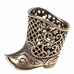 """Boot"" Souvenir Сollectable Thimble Figure Statue BronZamania B853"
