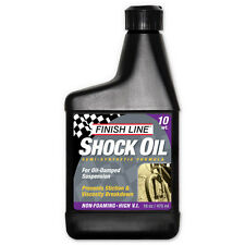 Finish Line Shock oil 10 wt 16 oz / 475 ml