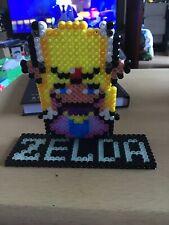 Hama Beads Zelda Stand Up 3d Pixel Glow In The Dark The Legend Of Zelda