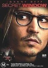 THE SECRET WINDOW - DVD -  Johnny Depp - Thriller MOVIE