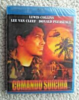 COMANDO SUICIDA (DER COMMANDER): LEE VAN CLEEF, D PLEASENCE. BLURAY (BD). NEW!