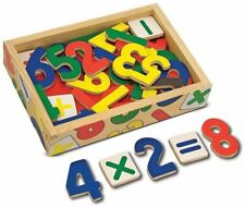 Melissa & Doug MAGNETIC WOODEN NUMBERS Baby/Toddler/Child Math Education BN