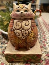 2003 Jim Shore Heartwood Creek Elijah Cat Enesco V114422